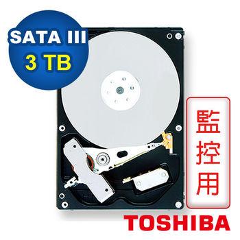 TOSHIBA 3.5吋 3TB 5940RPM/32MB 內接式硬碟