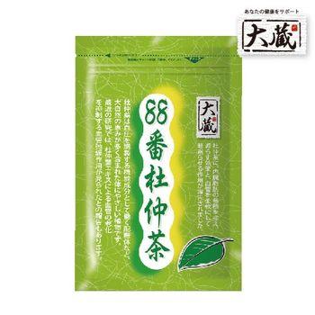 【大藏Okura】88番杜仲綠茶1袋(2g x30包/袋)