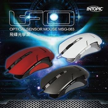 INTOPIC 廣鼎- 飛碟光學鼠 MSG-083