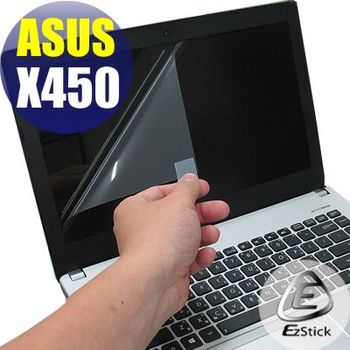 【EZstick】ASUS X450 X450JN X452VP 專用 靜電式筆電LCD液晶螢幕貼 (鏡面螢幕貼)
