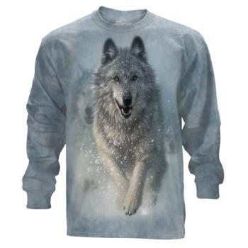 『摩達客』(預購)美國進口The Mountain 雪狼開路 純棉長袖T恤