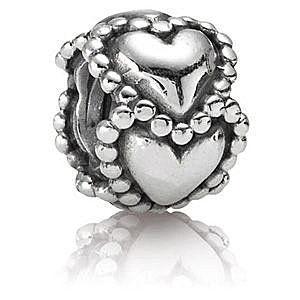 【PANDORA】潘朵拉 Dotted Hearts 墬飾 ( 790448 )