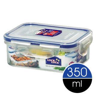 LockLock微波加熱長型保鮮盒350ml(HPL806)