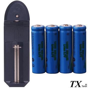 【特林TX】14500鋰充電池4顆多功能充電組(LI14500-4-Z)