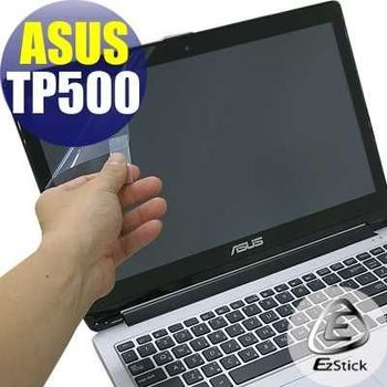 【EZstick】ASUS Transformer Book Flip TP500 (特殊規格) 專用 靜電式筆電LCD液晶螢幕貼 (高清霧面螢幕貼)