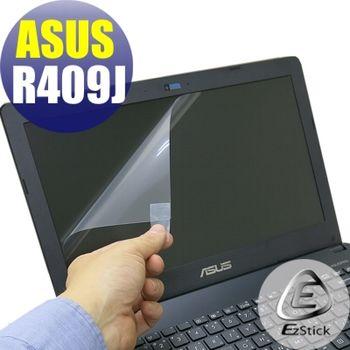 【EZstick】ASUS R409 R409J   專用 靜電式筆電LCD液晶螢幕貼 (鏡面螢幕貼)