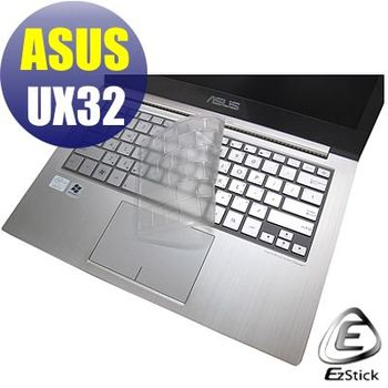 【EZstick】ASUS UX32 ULTRABOOK  系列專用 奈米銀抗菌 TPU 鍵盤保護膜