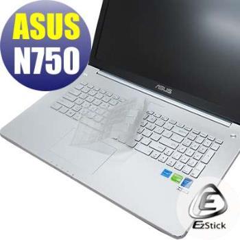 【EZstick】ASUS N750 N750JV  系列專用 奈米銀抗菌 TPU 鍵盤保護膜