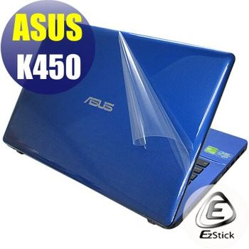 【EZstick】ASUS K450 K450V 系列專用 二代透氣機身保護膜 (DIY包膜)