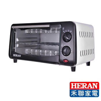 【HERAN禾聯】9L二旋鈕電烤箱HEO-0901WGH