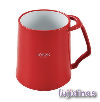 Fujidinos【DANSK】琺瑯材質馬克杯(紅色)