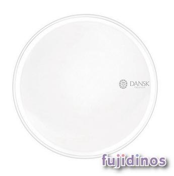 Fujidinos【DANSK】琺瑯材質餐盤‧28cm(白色)