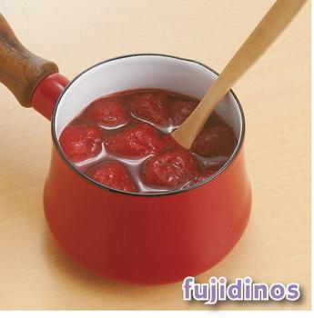 Fujidinos【DANSK】迷你造型琺瑯鍋(紅色)