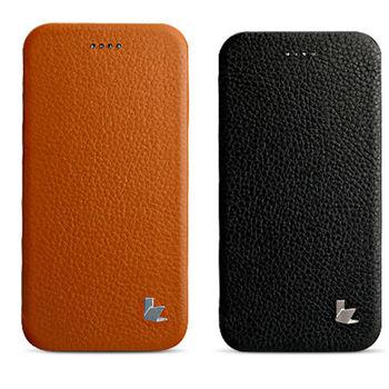 【Jison Case】iPhone 6 plus / 6s plus 真皮左翻皮套(二色可供選擇)
