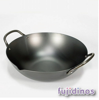 Fujidinos【極PREMIUM】不易生鏽中華鍋(30cm)