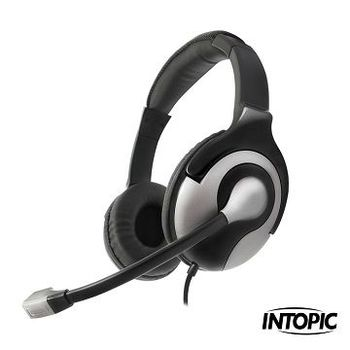INTOPIC 廣鼎-USB 頭戴式耳機麥克風 JAZZ-UB600