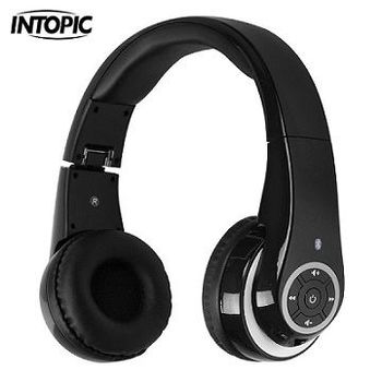 INTOPIC 廣鼎-藍牙無線頭戴式耳麥 JAZZ-BT950