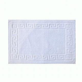 【Luo mandi】六星級飯店專用100%純棉羅曼蒂(地墊--白色)
