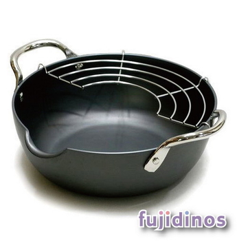 Fujidinos【極PREMIUM】天婦羅油炸鍋(28cm)