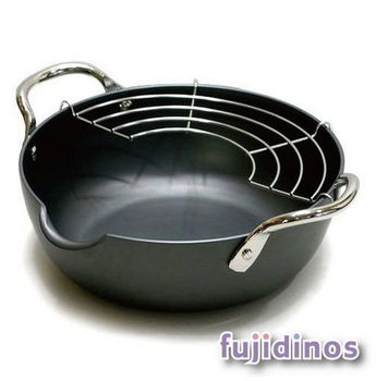 Fujidinos【極PREMIUM】天婦羅油炸鍋(20cm)