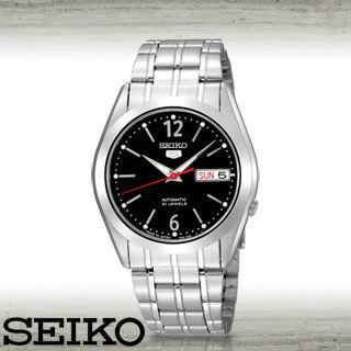 【SEIKO 精工】全日製-盾牌5號機械錶(SNKF01J1)