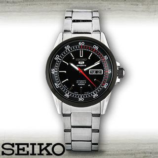 【SEIKO 精工】全日製-盾牌5號時尚機械男錶(SNZH19J1)