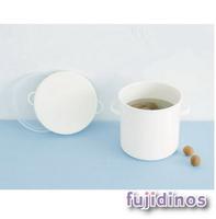 Fujidinos~野田琺瑯~圓筒形儲物罐 ^#40 直徑18cm ^#41