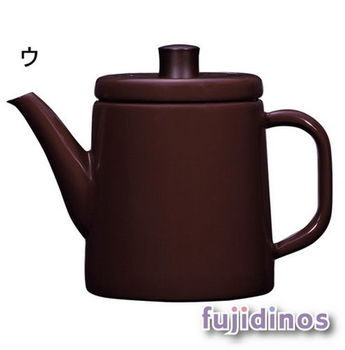 Fujidinos【野田琺瑯】北歐風手沖壺(咖啡色)
