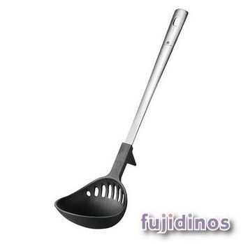 Fujidinos【UCHICOOK】 便利耐熱濾水勺(黑色)
