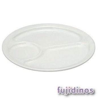 Fujidinos【野田琺瑯】優雅圓型餐盤(小型)