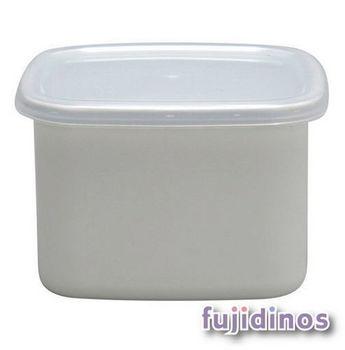 Fujidinos【野田琺瑯】方型附蓋儲物罐(小型)