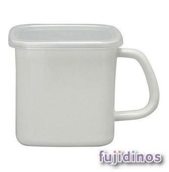 Fujidinos【野田琺瑯】杯型附蓋儲物罐