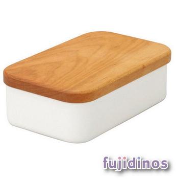 Fujidinos【野田琺瑯】奶油收納盒