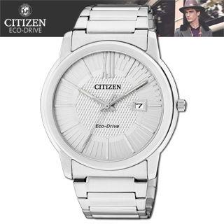 【CITIZEN 星辰】光動能時尚腕錶(AW1210-58A)