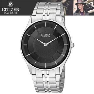 【CITIZEN 星辰】光動能藍寶石水晶時尚腕錶(AR3010-65E)