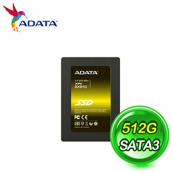 ADATA 威剛 SX910 512GB SATA3 SSD固態硬碟