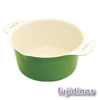 Fujidinos【小巧可愛】多彩迷你油炸鍋(綠色)