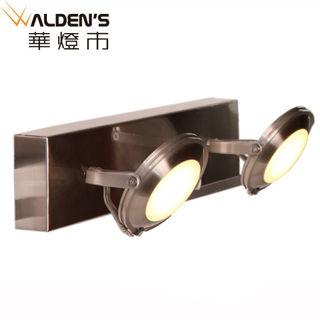 【華燈市】LED工作室雙壁燈(亮銀時尚款)