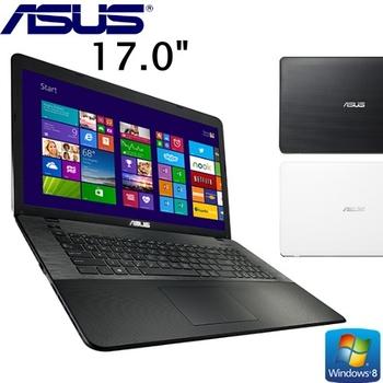 [Asus音樂祭]【ASUS華碩】 X751MD 17吋大螢幕 N3540四核 1G獨顯效能文書筆電-贈NFC藍芽無線喇叭+觸控手套+螢幕擦拭布