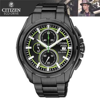 【CITIZEN 星辰】關鍵任務 三眼計時碼錶(CA0275-55E)