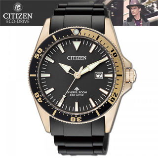 【CITIZEN 星辰】光動能-潛水款運動錶(BN0104-09E)