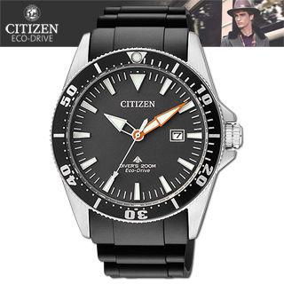 【CITIZEN 星辰】光動能-潛水款運動錶(BN0100-00E)