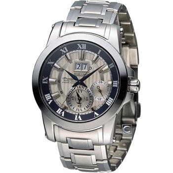 精工 SEIKO Premier 60周年限量人動電能時尚腕錶 7D56-0AD0S(SNP111J1)