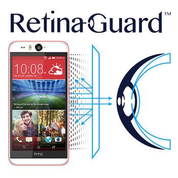 RetinaGuard 視網盾 HTC Desire eye 眼睛防護  防藍光保護膜 透明版