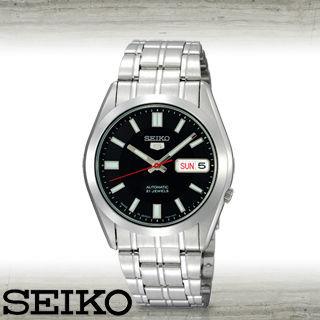 【SEIKO 精工】全日製-盾牌5號機械錶(SNKE87J1)