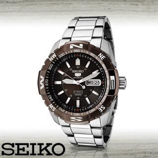 【SEIKO 精工】全日製-盾牌5號時尚機械男錶(SNZJ09J1)