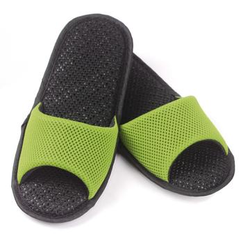 AC Rabbit 開口型低均壓氣墊拖鞋(馬卡龍色系)-嫩芽綠