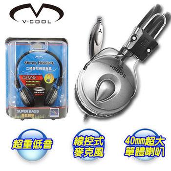【V-COOL】立體式耳機麥克風 HS803