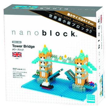 【Nanoblock 迷你積木】英國倫敦塔橋 NBH-065