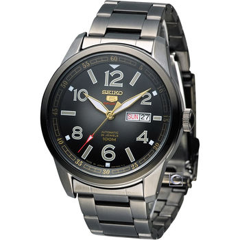 SEIKO 精工 5號 紳士優質機械腕錶 4R36-03N0SD SRP631J1